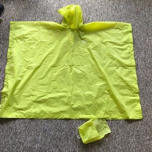 Youth Coleman Neon Yellow Rain Poncho